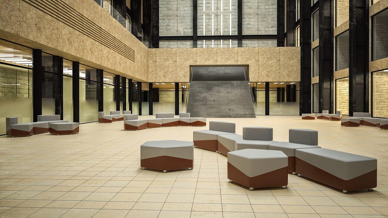 Мягкая офисная мебель М15 United lines - фото 7