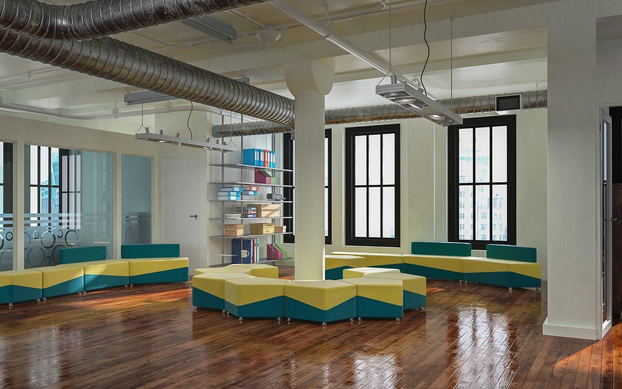 Мягкая офисная мебель М15 United lines - фото 3