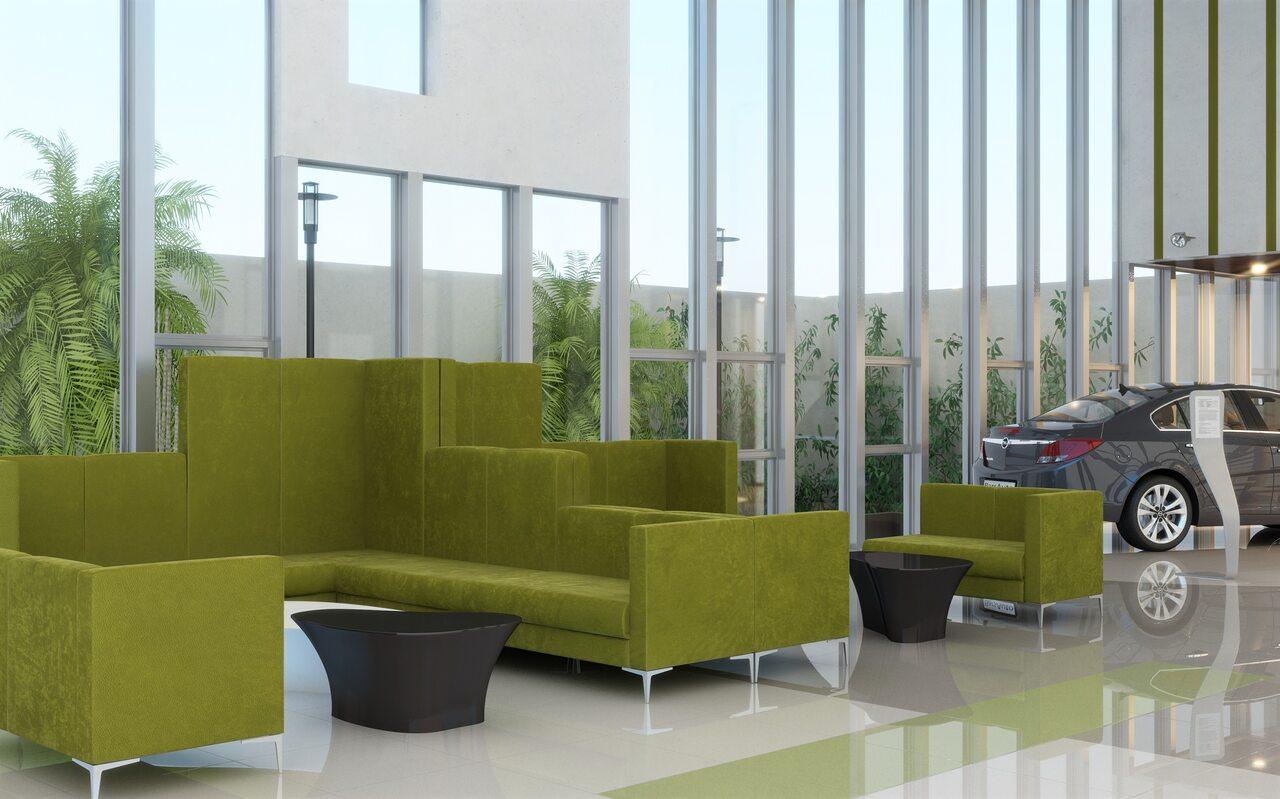 Мягкая офисная мебель М6 Soft room - фото 3