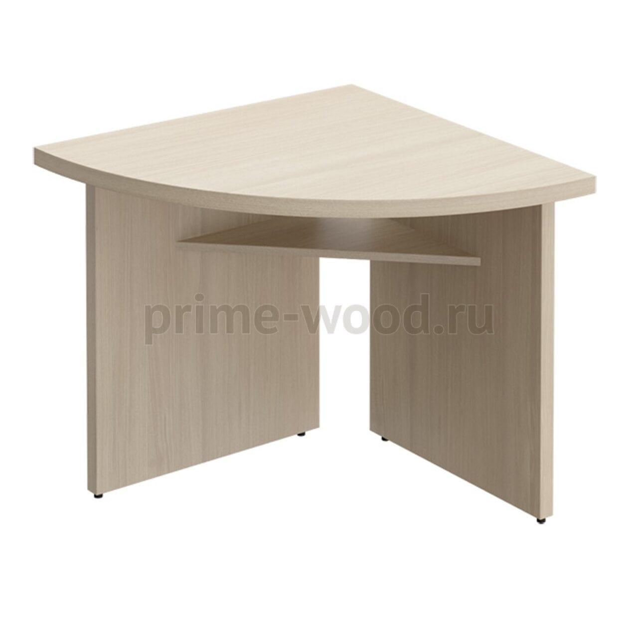 Секция стола переговоров угловая БОРН LT 80x80x75 - фото 1