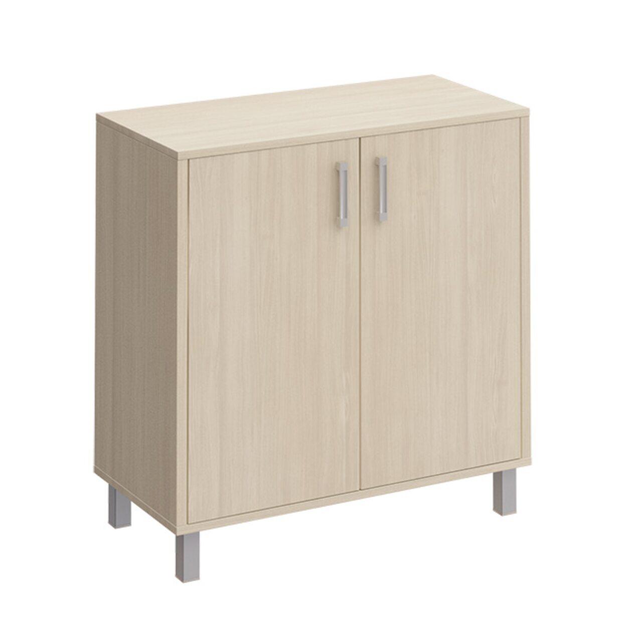 Шкаф для документов две глухие двери без замка  БОРН LT 90x45x94 - фото 1