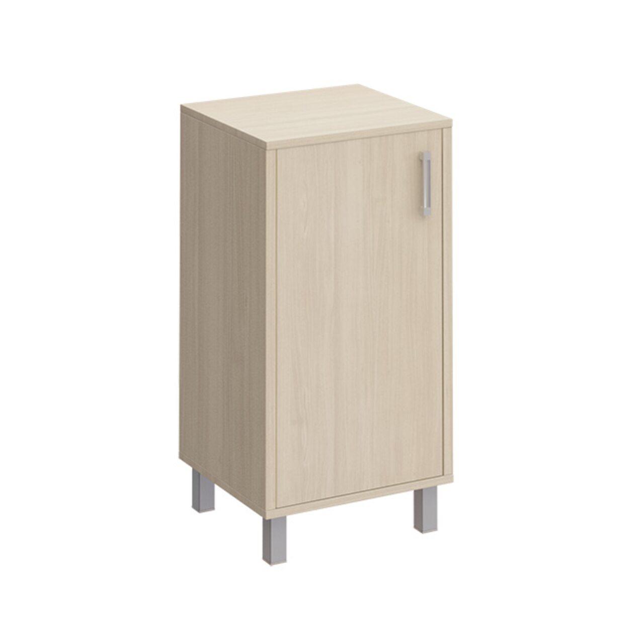 Шкаф для документов низкий универсальный ЛЕВЫЙ, дверь ДСП без замка  БОРН LT 45x48x94 - фото 1
