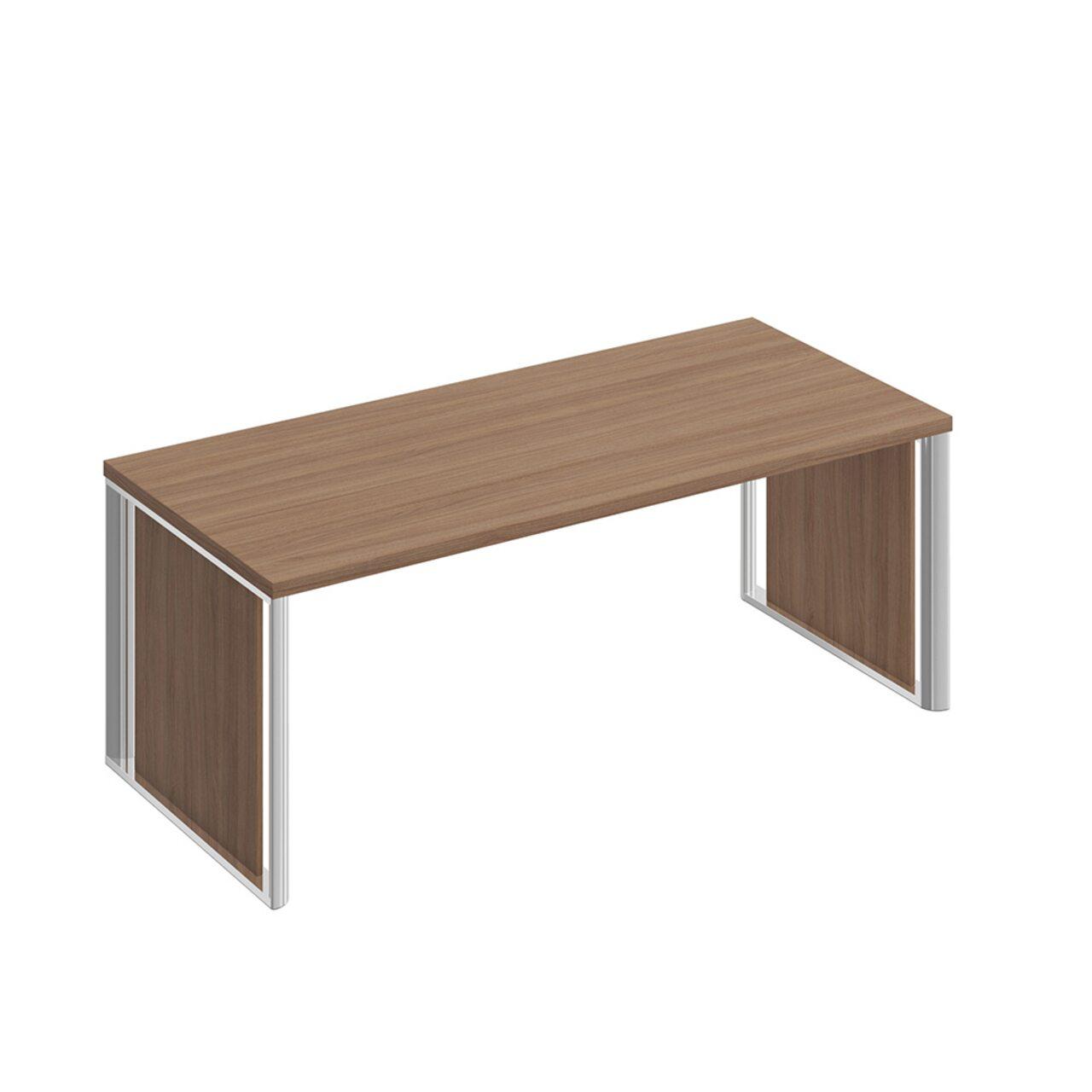 Стол руководителя с декоративными вставками  Bravo 200x90x75 - фото 3