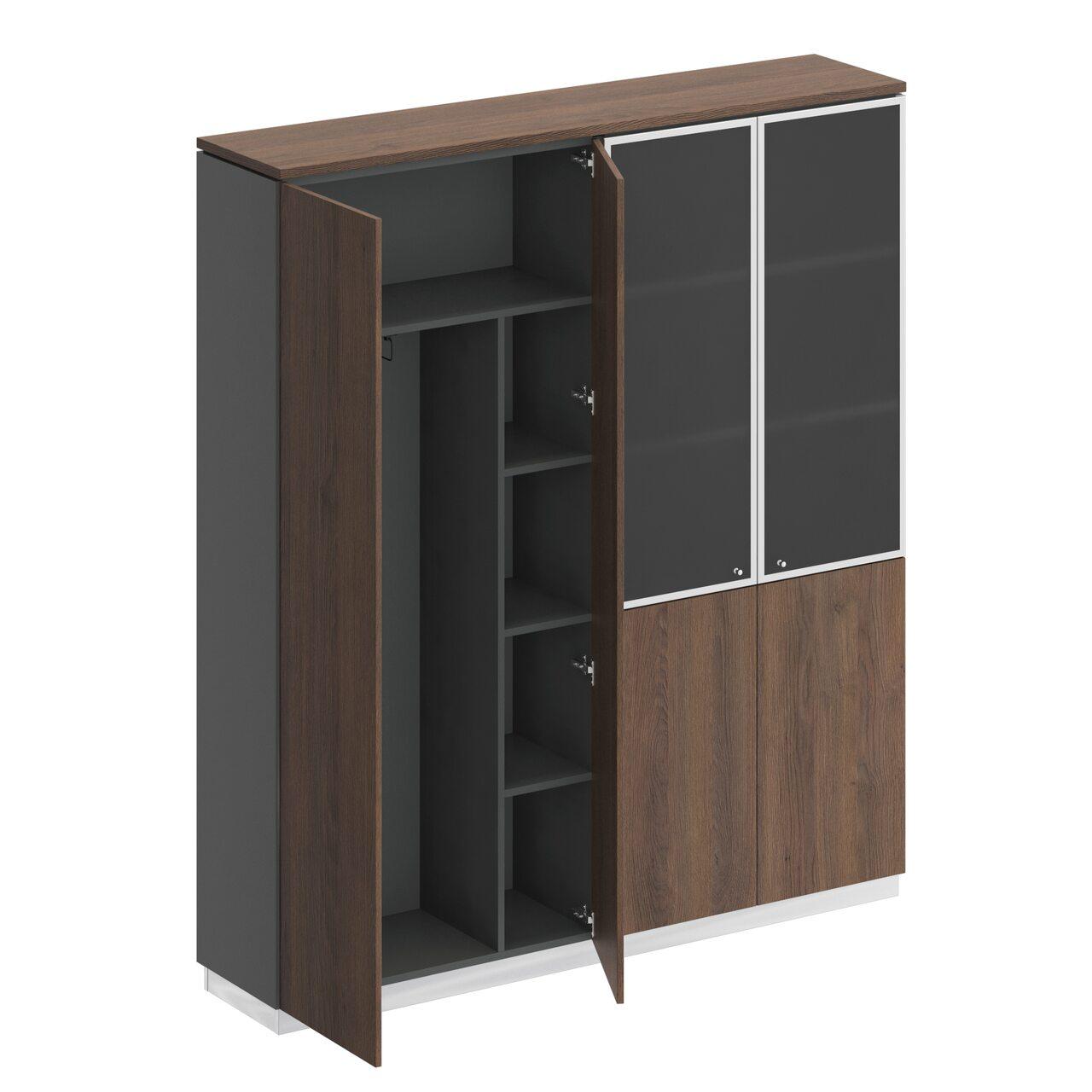 Шкаф комбинированный  Bravo 181x40x204 - фото 7