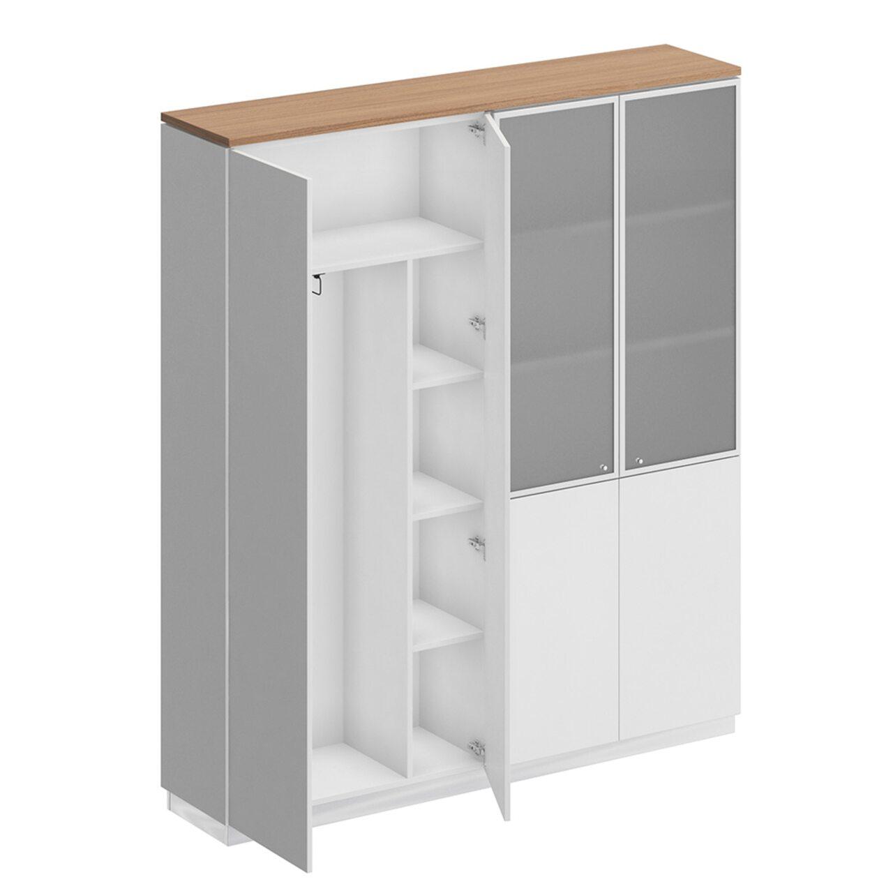 Шкаф комбинированный  Bravo 181x40x204 - фото 4