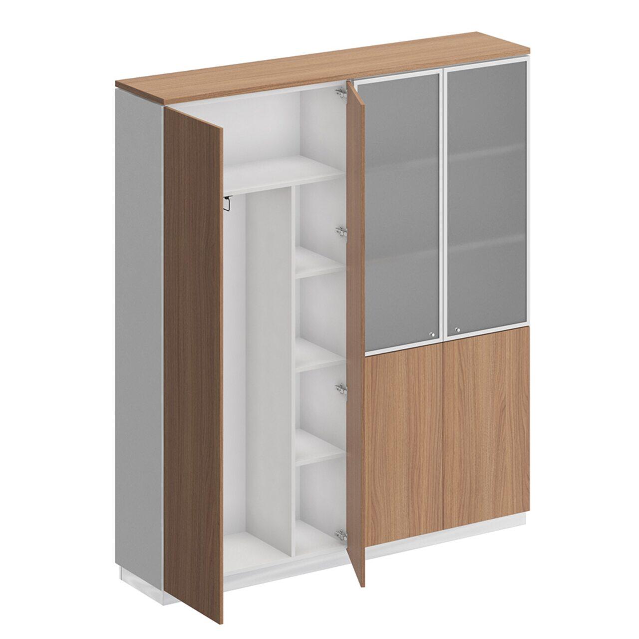 Шкаф комбинированный  Bravo 181x40x204 - фото 5