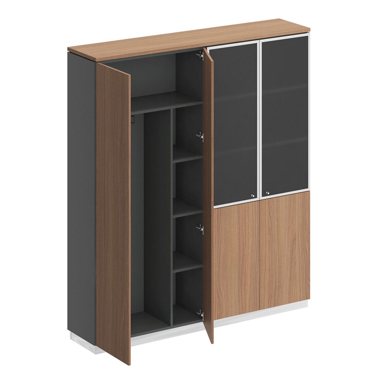 Шкаф комбинированный  Bravo 181x40x204 - фото 6
