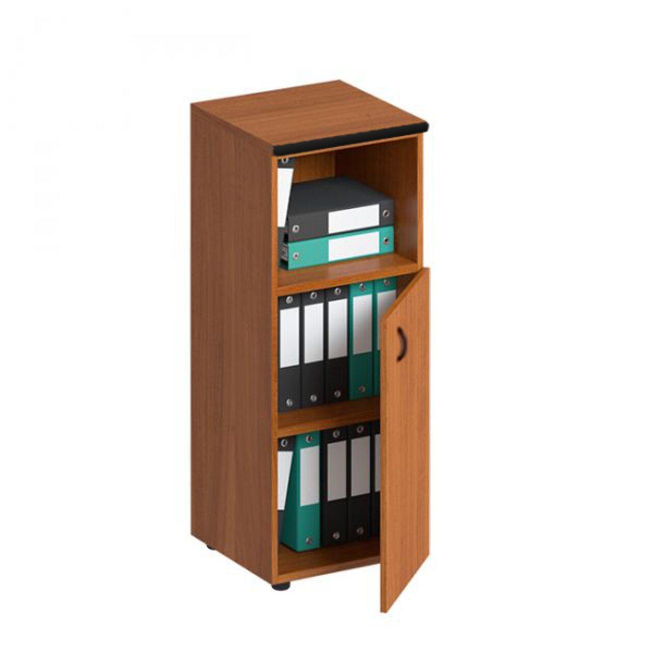 Шкаф для документов средний узкий полузакрытый  Дин-Р 46x47x120 - фото 1