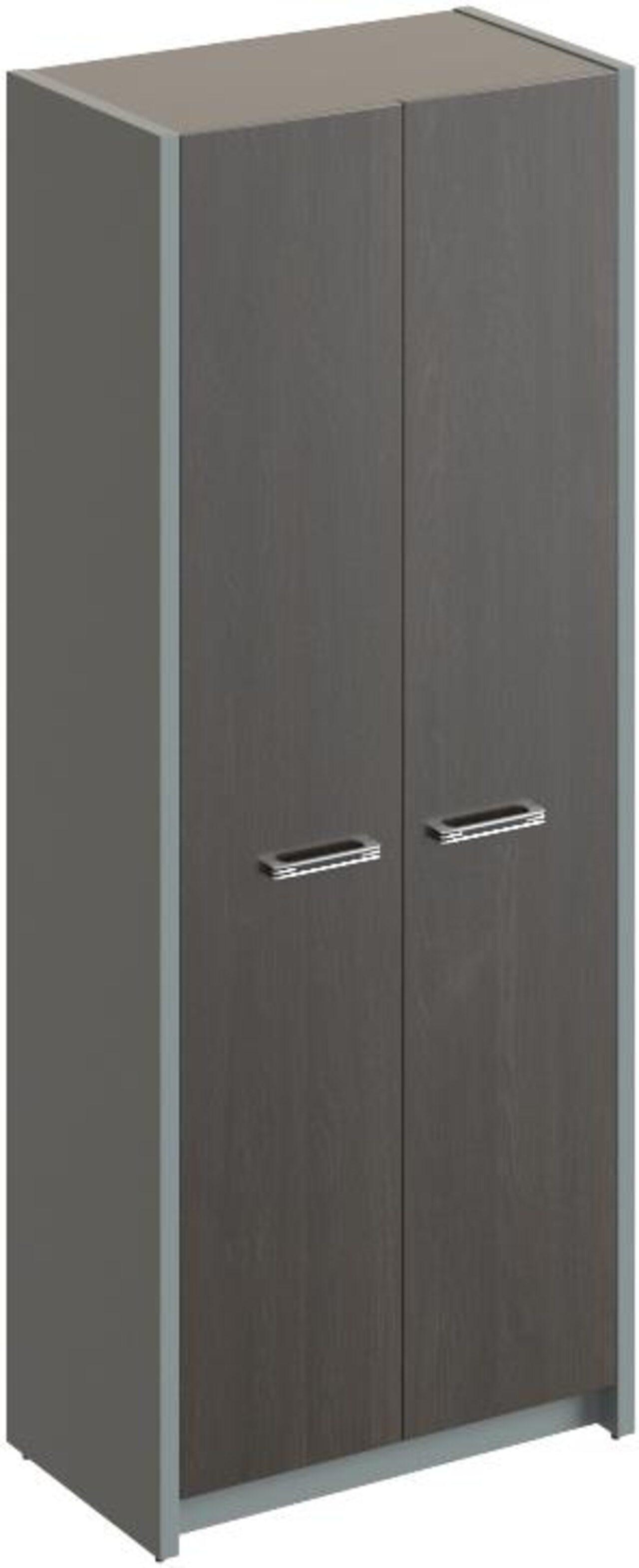 Шкаф для одежды с выдвижной штангой  Дельта 80x45x200 - фото 1