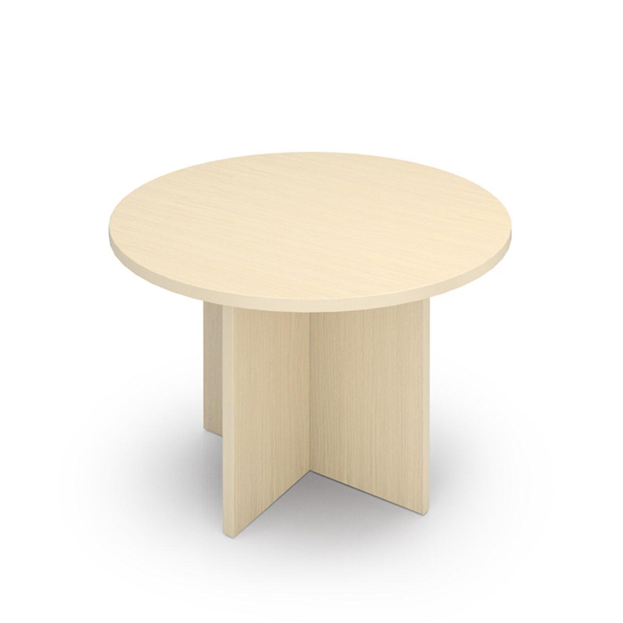 Стол для перговоров круглый - фото 4
