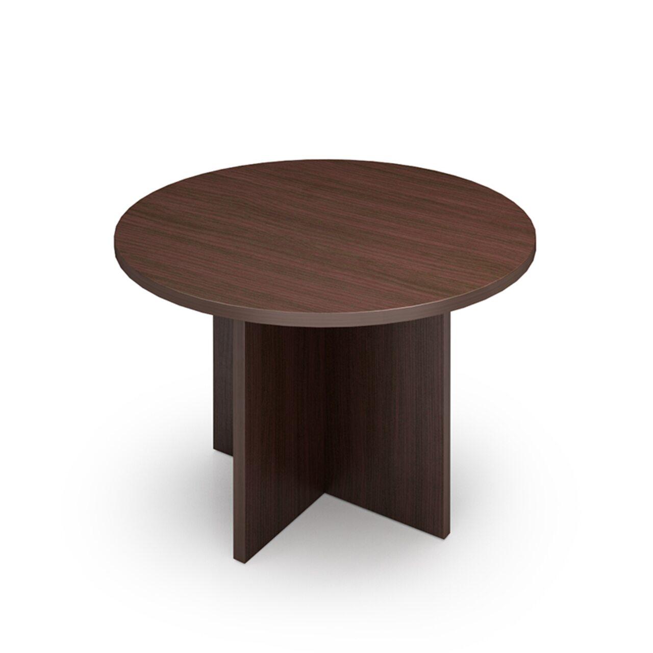 Стол для перговоров круглый - фото 1