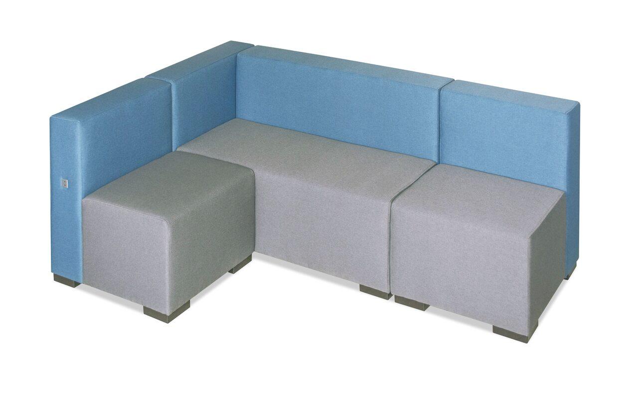 Мягкая офисная мебель Куб - фото 4