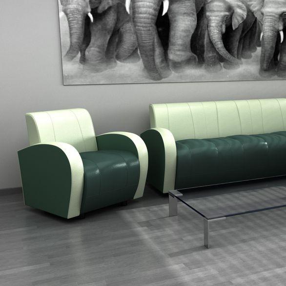 Мягкая офисная мебель Альфа Люкс