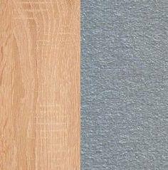 Дуб сонома светлый/Металлик