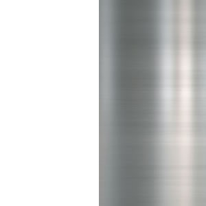 Белый премиум/Металл глянец