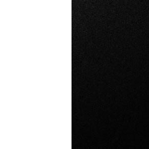 Белый премиум/Черный глянец
